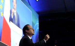 François Hollande le 2 décembre 2013 à la conférence «Innovation 2030»