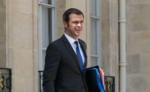 Le ministre de la Santé Olivier Véran à l'Elysée le 22 juillet 2020