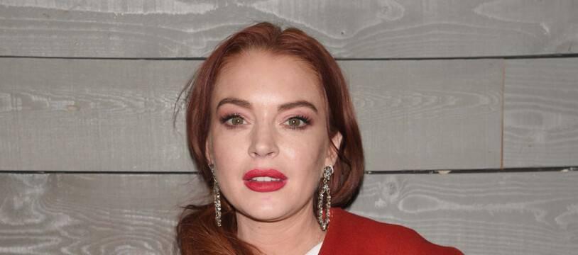 La chanteuse et actrice Lindsay Lohan