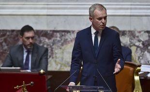 Le député LREM François de Rugy, élu président de l'Assemblée nationale, le 27 juin 2017 à Paris