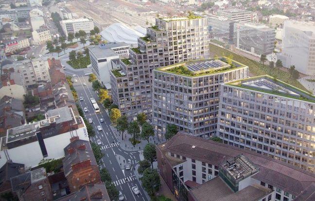 Le futur îlot Beaumont et son avenue seront réaménagés par la ville de Rennes.