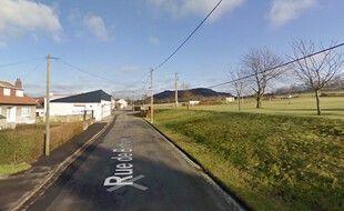La rue de Béthune, à Calonne-Ricouart, où sont nés trois internationaux français.