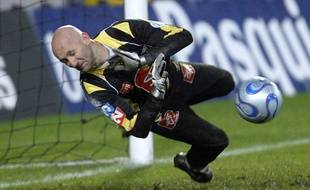 Le gardien de but Fabien Barthez.