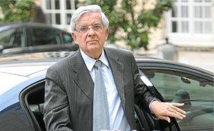Jean-Pierre Chevènement, le 8 septembre, à l'hôtel Matignon.