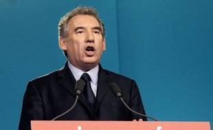 Le président du MoDem, François Bayrou, le 3 mai 2012, à Paris.