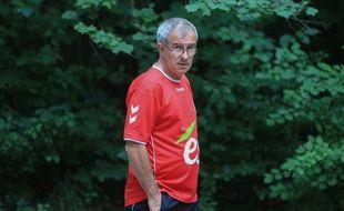 Jacky Duguépéroux a permis au Racing club de Strasbourg de retrouver la Ligue 2. Les remerciements se sont multipliés envers le coach. (Archives)