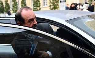 Philippe Martinez, secrétaire général de la CGT, quitte l'Hôtel de Matignon, le 10 janvier dernier, après une rencontre avec Edouard Philippe.