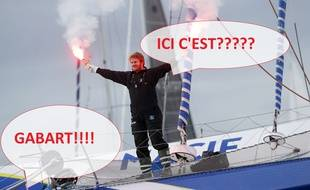 François Gabart est venu, a vu et a vaincu