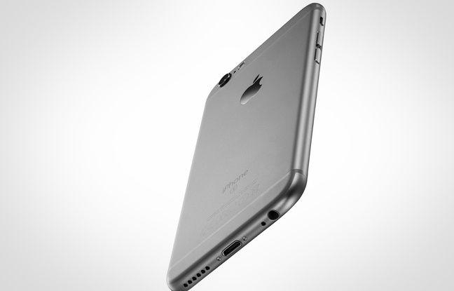 L'iPhone 6S, avec son port Lightning et sa prise casque.