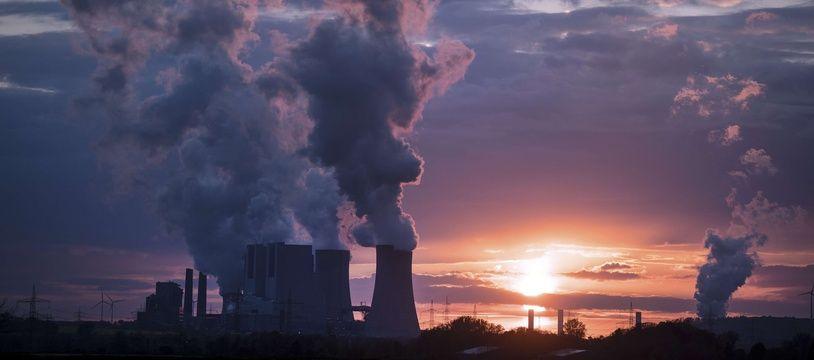 La centrale à charbon de Neurath, en Allemagne (illustration).