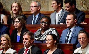 Ramlati Ali à l'Assemblée nationale, le 4,juillet 2017 in Paris. / AFP PHOTO / Martin BUREAU