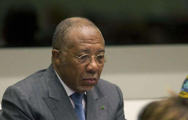 L'ex-président du Liberia Charles Taylor au tribunal de Leidschendam, près de la The  Hague, aux Pays-Bas, le 16 mai 2012.