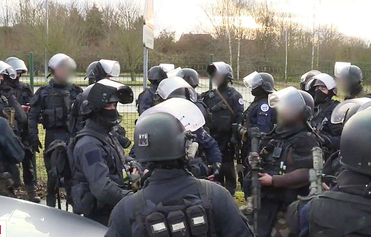 Des gendarmes du GIGN. – SIPA