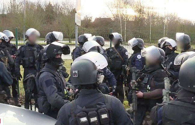 Des gendarmes du GIGN.