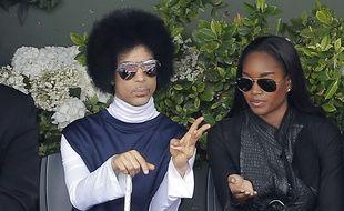 Prince, le 2 juin 2014, à Roland-Garros.