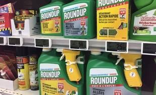 Des produits avec du glyphosate