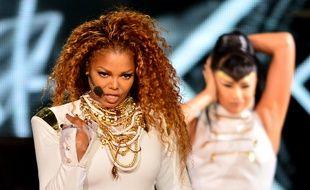 La chanteuse Janet Jackson en concert à Miami lors de sa précédente tournée en 2015