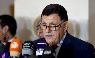 Le Premier ministre libyen, Fayez al-Sarraj, le 17 juillet 2016 in Tunis.