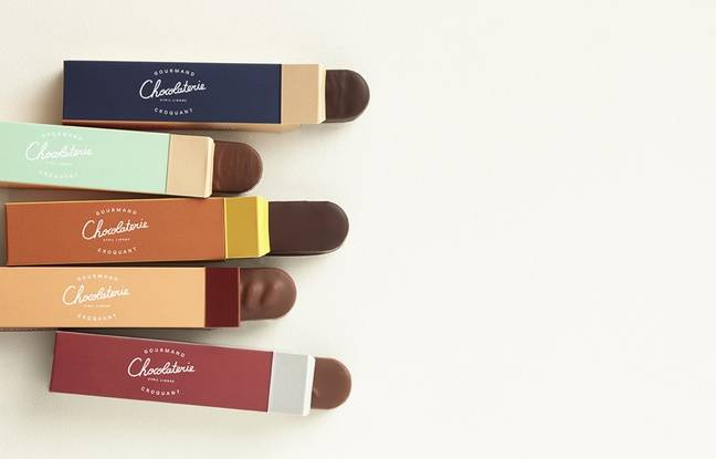 Le studio be-poles a travaillé pour la marque de chocolat de Cyril Lignac