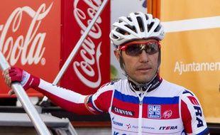 Le coureur de l'équipe Katusha, Joaquim Rodriguez, à Majorque, le 3 février 2013.