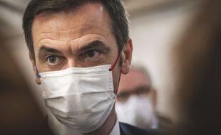 Le ministre de la Santé, Olivier Véran, à Nice le 20 février 2021.