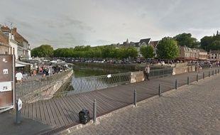 Le quartier de Saint-Leu, à Amiens.