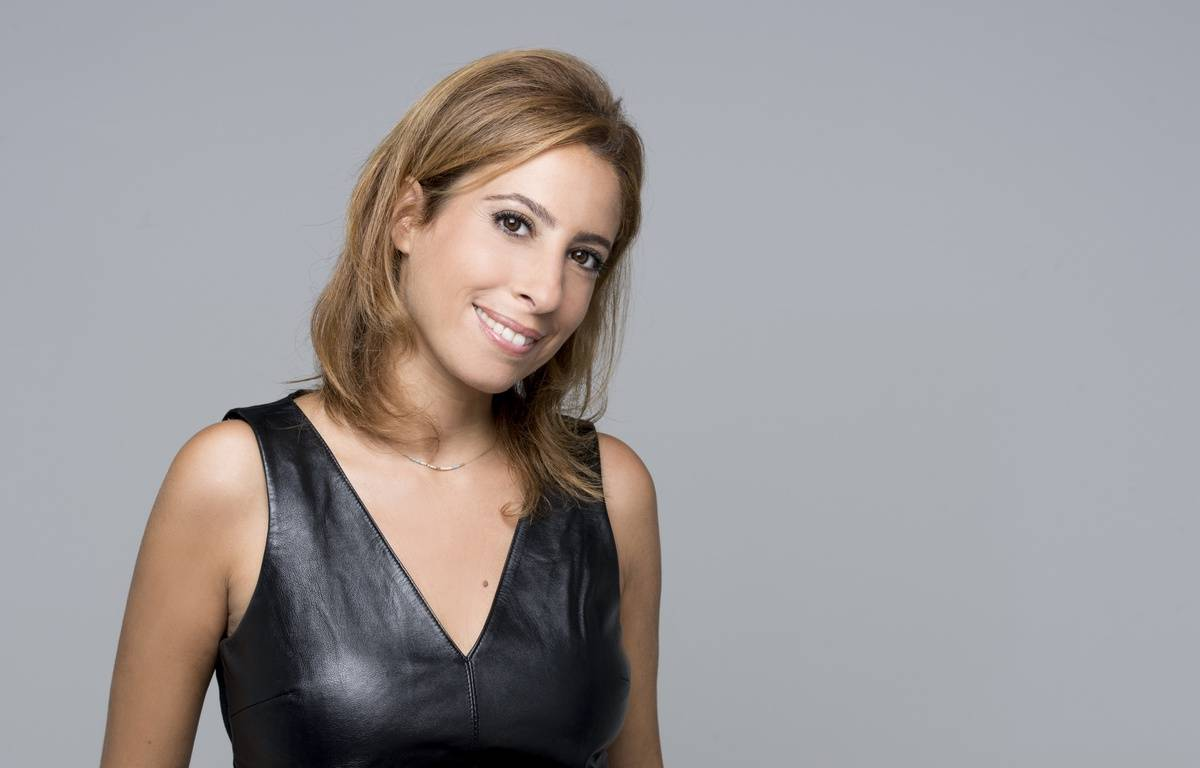 La journaliste Léa Salamé officie sur France 2 et France Inter. – GUYON Nathalie