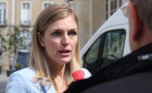 La candidate LREM aux élections municipales à Rennes Carole Gandon. Ici en juin 2020.