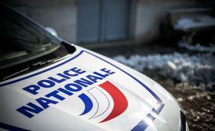 Une voiture de la police nationale (image d'illustration).