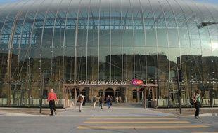 La gare de Strasbourg a dû être totalement évacuée pendant plus d'une heure à Strasbourg ce dimanche 29 octobre. Illustration