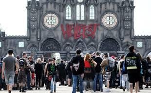 L'entrée principale du Hellfest (illustration).