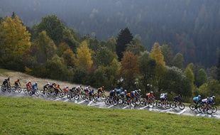 L'Italien disputait son premier Giro