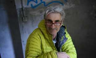 Hervé Gourdel posant pour une amie photographe, près de Menton en novembre 2013.