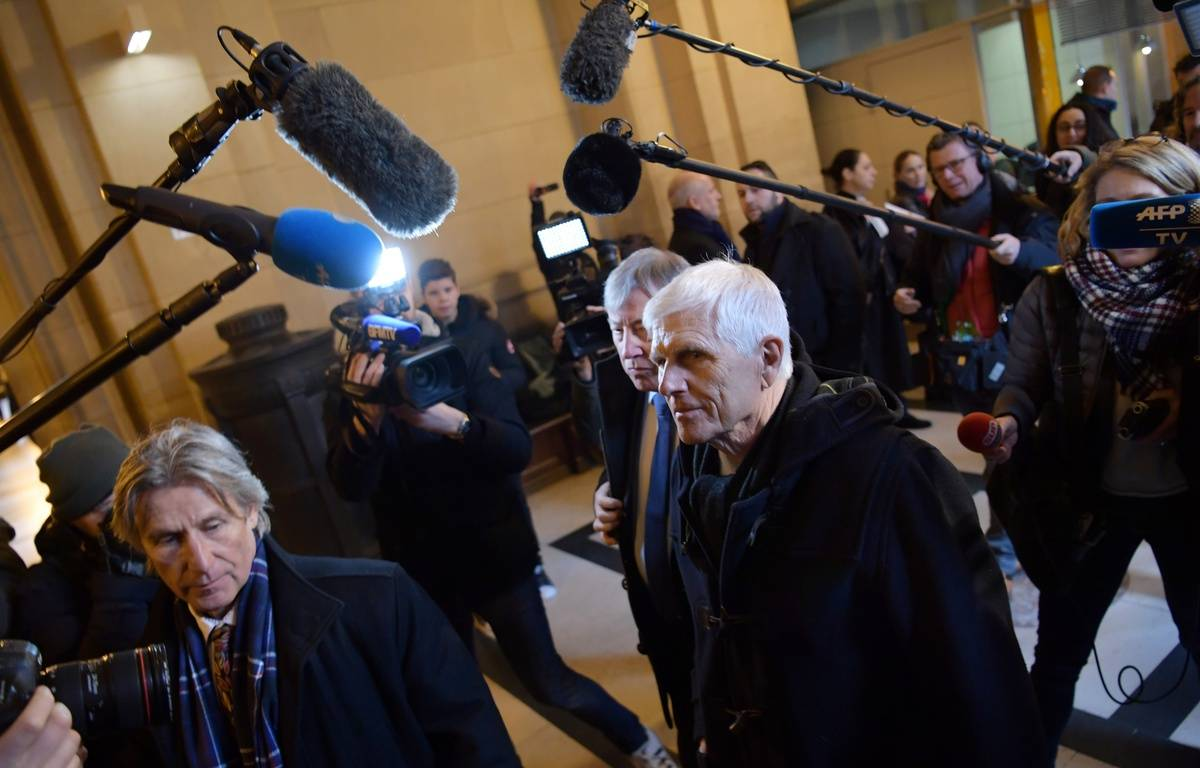 Serge Biechlin, l'ancien directeur de l'usine AZF, à l'ouverture du troisième procès.  – Christophe ARCHAMBAULT / AFP