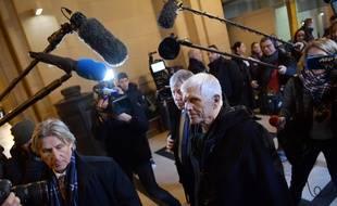 Serge Biechlin, l'ancien directeur de l'usine AZF, à l'ouverture du troisième procès.