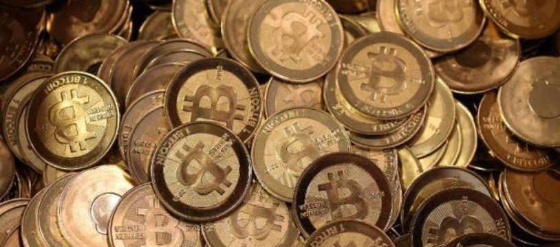 Un tas de Bitcoin
