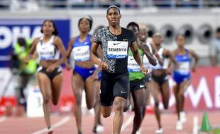 Caster Semenya est soutenue par la fédération sud-africaine d'athlétisme.