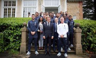 L'équipe de France recevra la Légion d'honneur