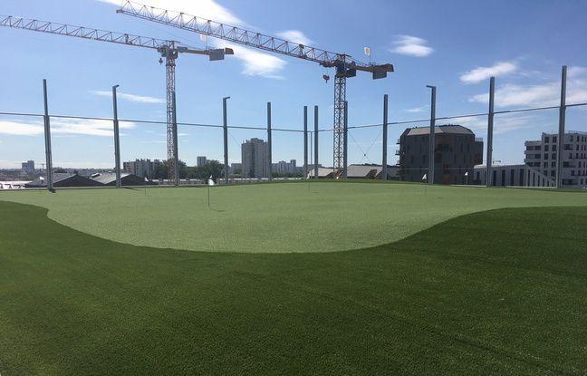Le Radisson Blu Hotel des Bassins à Flot propose même un putting de golf de 700 m2, au sixième étage de l'établissement.