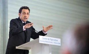 Un projet de loi de modernisation de l'agriculture française sera déposé avant la fin 2009 pour préparer la grande réforme de la politique agricole commune (PAC) prévue en 2013, a annoncé jeudi Nicolas Sarkozy dans le Maine-et-Loire.