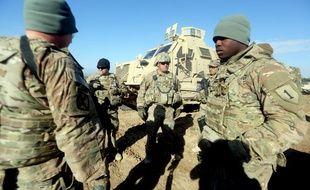 Des soldats américains: illustration
