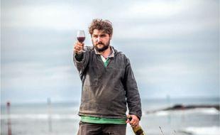 Mathieu Le Saux, vigneron à Groix.
