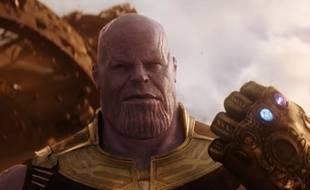 Le grand méchant Thanos dans le trailer de «Avengers: Infinity War»