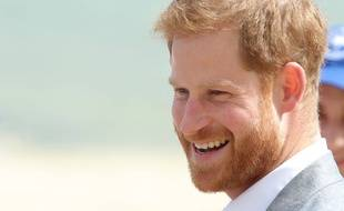 Le prince Harry, duc de Sussex au port de Melbourne beach.