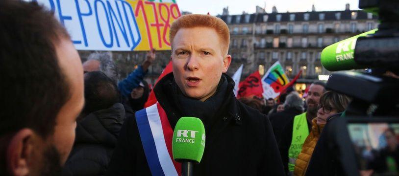 Adrien Quatennens est député LFI du Nord depuis juin 2017.