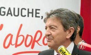 Jean-Luc Mélenchon , samedi.
