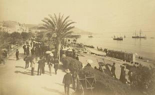 Promenade des anglais - Nice - Fin du XIXe.
