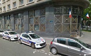 Le commissariat du XIIe arrondissement de Paris, sur Google Street View.