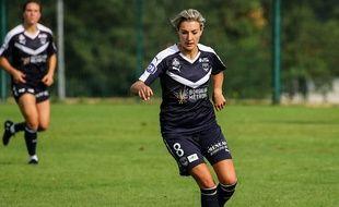 Claire Lavogez retrouve le plaisir du jeu avec les Girondins de Bordeaux.
