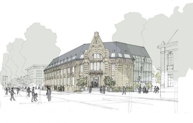 Projet d'hôtel quatre étoiles cours de la Marne, à la place de l'Institut de zoologie